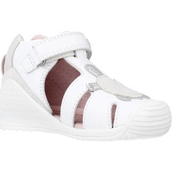 Chaussures Fille Sandales et Nu-pieds Biomecanics 212109 Blanc