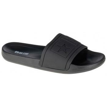 Chaussures Homme Mules Big Star Slipper noir