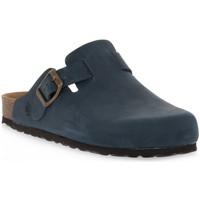 Chaussures Sabots Bioline 1900 BLU INGRASSATO Blu