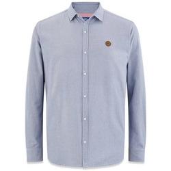 Vêtements Homme Chemises manches longues TBS ANDEOCHE Bleu marine