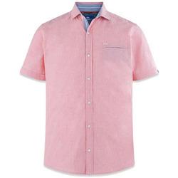 Vêtements Homme Chemises manches courtes TBS VALERCHE Rouge