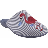 Chaussures Femme Chaussons Garzon maison Mme  7351.161 bleu Rouge