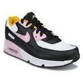 Chaussures Fille Baskets mode Nike AIR MAX 90 PS BLANC NOIR ROSE