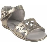 Chaussures Fille Sandales et Nu-pieds Bubble Bobble Chaussure fille  A2956 or Argenté