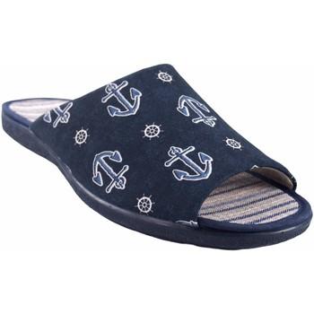 Chaussures Homme Chaussons Garzon Go by house gentleman  6975.133 bleu Bleu