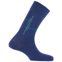 Accessoires Homme Chaussettes Kindy Mi-chaussettes baguette arty Made in France Marine