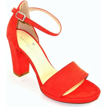 Chaussures Femme Mocassins Sofia Costa 10278 ORANGE DEVIL