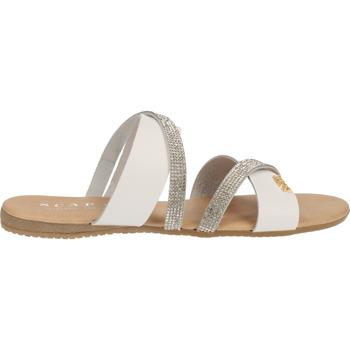 Chaussures Femme Sabots Scapa Mules Weiß
