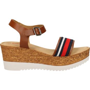 Chaussures Femme Sandales et Nu-pieds S.Oliver Sandales Braun/Blau