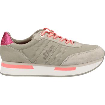 Chaussures Femme Baskets basses S.Oliver Sneaker Hellgrau