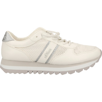 Chaussures Femme Baskets basses S.Oliver Sneaker Weiß