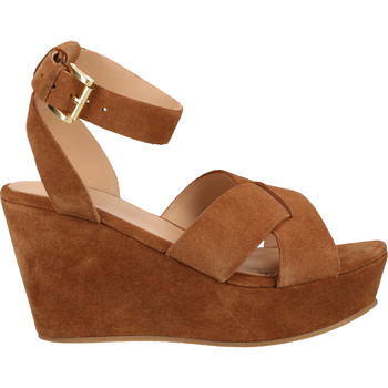 Chaussures Femme Sandales et Nu-pieds Sansibar Sandales Mittelbraun