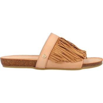 Chaussures Femme Sabots Fred de la Bretoniere Mules Hellbraun