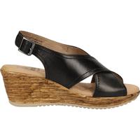 Chaussures Femme Sandales et Nu-pieds Jana Sandalen Noir