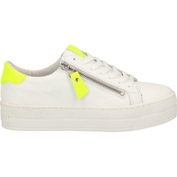 Chaussures Femme Baskets basses SPM Sneaker Weiß/Gelb