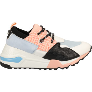 Chaussures Femme Baskets basses Steve Madden Sneaker Blau/Pink