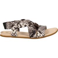 Chaussures Femme Sandales et Nu-pieds Ilc Sandales Schwarz/Weiß