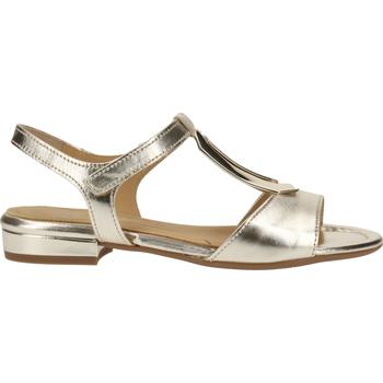Chaussures Femme Sandales et Nu-pieds Ara Sandales Weiß/Gold