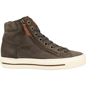 Chaussures Femme Baskets montantes Paul Green Sneaker Grau