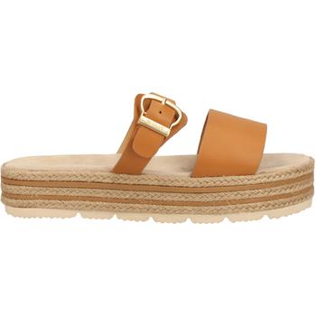Chaussures Femme Sabots Gant Mules Tan