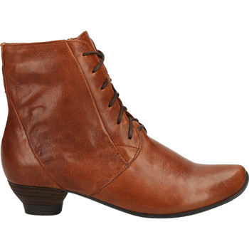 Chaussures Femme Boots Think Stiefelette Marron