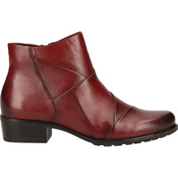 Chaussures Femme Boots Caprice Stiefelette Rouge