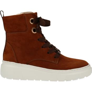 Chaussures Femme Boots Ara Bottines Cognac