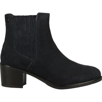 Chaussures Femme Boots Caprice Stiefelette Bleu