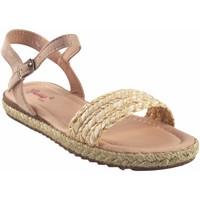 Chaussures Fille Sandales et Nu-pieds Bubble Bobble Sandale fille  A3048 BEIG Blanc