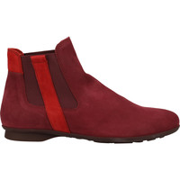 Chaussures Femme Boots Think Stiefelette Rouge