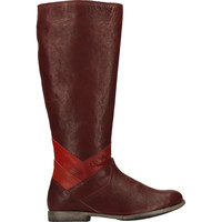 Chaussures Femme Bottes ville Think Stiefel Rouge