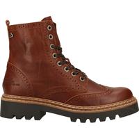Chaussures Femme Boots Bullboxer Bottines Cognac