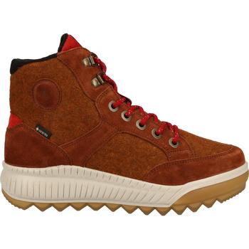 Chaussures Femme Boots Legero Bottines Cognac