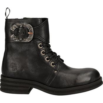 Chaussures Femme Boots Fly London Bottines Schwarz/Silber