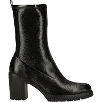 Chaussures Femme Boots Wonders Bottines Schwarz