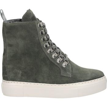 Chaussures Femme Boots Sansibar Bottines Dunkelgrau