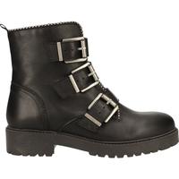 Chaussures Femme Boots Ilc Bottines Schwarz/Gold