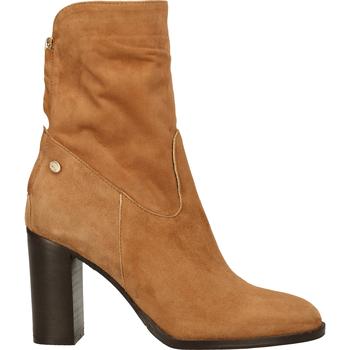 Chaussures Femme Boots Fred de la Bretoniere Bottines Cognac