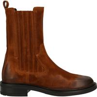 Chaussures Femme Bottes ville Bronx Bottes Cognac