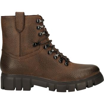 Chaussures Femme Boots Steven New York Bottines Dunkelbraun