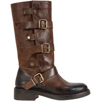 Chaussures Femme Bottes ville Inuovo Stiefel Marron