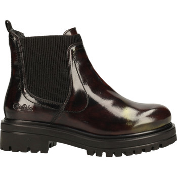 Chaussures Femme Boots Buffalo Stiefelette Rouge