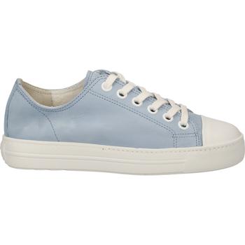 Chaussures Femme Baskets basses Paul Green Sneaker Blau/Weiß
