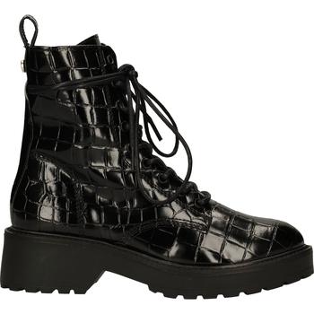 Chaussures Femme Boots Steve Madden Bottines Schwarz/Schwarz