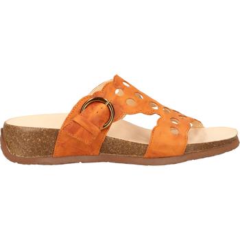Chaussures Femme Sabots Think Pantoletten Orange