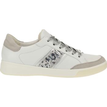 Chaussures Femme Baskets basses Ara Sneaker Weiß/Silber
