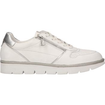 Chaussures Femme Baskets basses Bugatti Sneaker Weiß/Silber