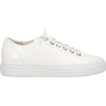 Chaussures Femme Baskets basses Paul Green Sneaker Weiß Lack