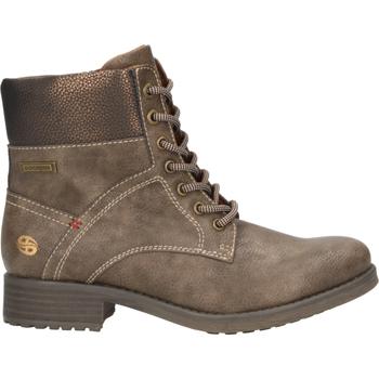 Chaussures Femme Boots Dockers Bottines Dunkelbraun