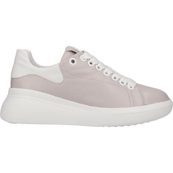 Chaussures Femme Baskets basses Högl Sneaker Hellgrau/Weiß